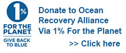 Donate to Ocean Recovery Alliance via 1% For the Planet