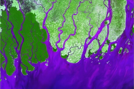Ganges River from Space